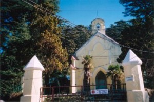 An old CNI church that followed the ecumenical and liberal traditions located in Mussoorie, Uttaranchal not far from Dehra Dun.